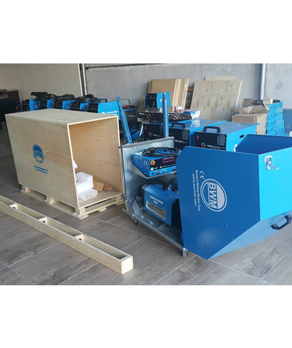Packaging is made with wooden boxes according to the standards. Safe transport is provided. line boring safe delivery line boring machine home line boring safe delivery
